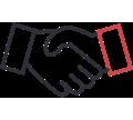 trusted partner pictogram